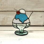 ステンドグラスかき氷 ブルーハワイ 2