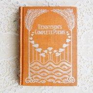 アンティーク アメリカ 洋書 TENNYSON'S COMPLETE POEMS / 古書 ブック