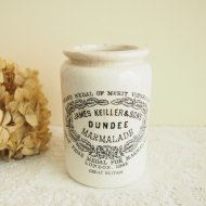 DUNDEE ダンディー マーマレード 陶器製のジャー B