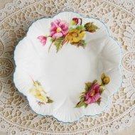 イギリス Shelley シェリー Begonia ベゴニア ミニプレート(小皿)