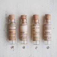 古い小さな薬瓶 ミニガラスボトル 1点