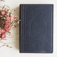 アンティーク 黒い表紙の洋書 Deutsches  / 古書 ブック