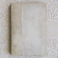 アンティーク 白い表紙の洋書 ADDRESSES  / 古書 ブック