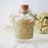 【カナダ発送】ラベル付の古いガラスボトル 薬瓶 / アンティーク・ヴィンテージ雑貨
