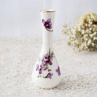 【カナダ発送】Hammrslery ハマースレイ バイオレット 小さなスミレの花瓶 / アンティーク・ヴィンテージ雑貨
