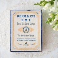 【カナダ発送】KERR & COS N.M.T 古い紙箱