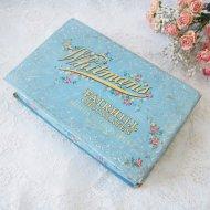 【カナダ発送】Whitman's Fairhill Chocolates  チョコレートの古い紙箱 / アンティーク・ヴィンテージ雑貨