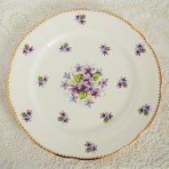 【カナダ発送】イギリス Royal Stafford Sweet Violets スゥィートバイオレット スミレ デザートプレート / アンティーク・ヴィンテージ雑貨