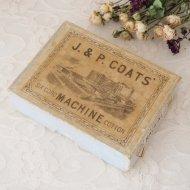 J. & P. COATS 古い紙箱 ペーパーボックス / アンティーク・ヴィンテージ雑貨