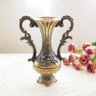 イタリア エレガントなお花模様の花瓶 / アンティーク・ヴィンテージ雑貨