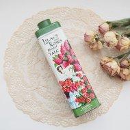 Lilacs and Roses 淑女とお花 タルクパウダー缶 ティンボトル / アンティーク・ヴィンテージ雑貨