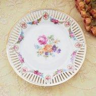 Bavaria ババリア フラワー お花模様のプレート B / アンティーク・ヴィンテージ雑貨