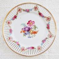 Bavaria ババリア フラワー お花模様のプレート C / アンティーク・ヴィンテージ雑貨