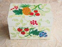 【リクエスト商品】J. CHEIN & CO  かわいいフルーツ模様のレシピボックス