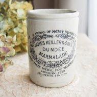 DUNDEE ダンディー マーマレード 陶器製のジャー