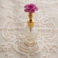 お花のパフュームボトル 香水瓶
