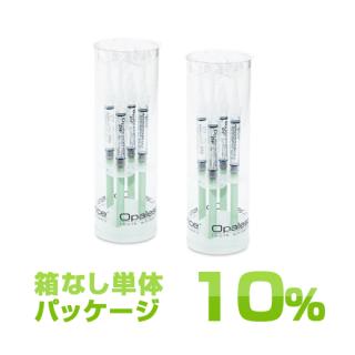 箱なし オパールエッセンス Opalescence PF 10% ミント ペイシェント キット(8本入り24日〜32日分)