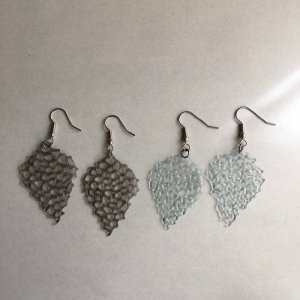 【Yano Yoko】Leaf Earrings