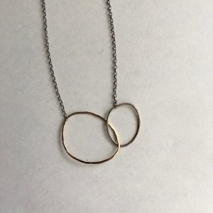 【source:Marjorie Victor】Two River Rock Necklace