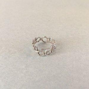 nakagawa kumiko ナンバーリング小 silver