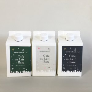 【Specialty Coffee Soh】 カフェオレベース500ml 限定Winterパッケージ