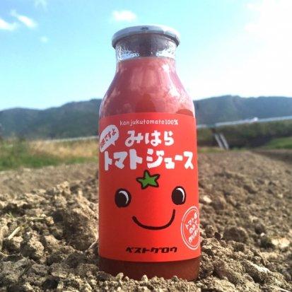 完熟トマトジュース6本セット:三原村...