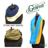 <img class='new_mark_img1' src='//img.shop-pro.jp/img/new/icons20.gif' style='border:none;display:inline;margin:0px;padding:0px;width:auto;' />【SALE!!!】GOWEST『2TONE KNIT SNOOD』スヌード/ネックウォーマー