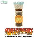 WILD BERRY「Incense Sticks/Egyptian Cotton」【エジプシャンコットン】ワイルドベリー インセンス お香