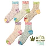 <img class='new_mark_img1' src='//img.shop-pro.jp/img/new/icons5.gif' style='border:none;display:inline;margin:0px;padding:0px;width:auto;' />A HOPE HEMP「HEMP SOCKS」【HSX-219】ヘンプソックス
