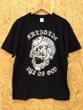 神眼芸術『Tibetan skull』T-shirt Black