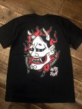 Single Needle『HANNYA』T-shirt