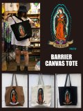 神眼芸術「Barrier」CANVAS TOTE BAG (3colours)