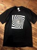 Import『GURUGURU』Art T-shirt(Black)