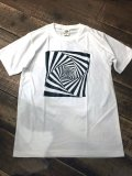 Import『GURUGURU』Art T-shirt(White)