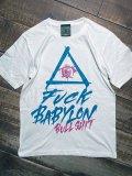 神眼芸術『BABYLON』T-shirt white