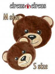 <img class='new_mark_img1' src='//img.shop-pro.jp/img/new/icons15.gif' style='border:none;display:inline;margin:0px;padding:0px;width:auto;' />Toy Bear Face Mat