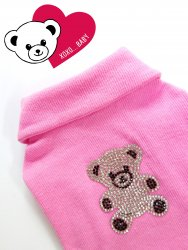 <img class='new_mark_img1' src='https://img.shop-pro.jp/img/new/icons30.gif' style='border:none;display:inline;margin:0px;padding:0px;width:auto;' />Bling Bling Kuma T【Pink】
