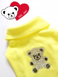 <img class='new_mark_img1' src='//img.shop-pro.jp/img/new/icons31.gif' style='border:none;display:inline;margin:0px;padding:0px;width:auto;' />Bling Bling Kuma T【Yellow】