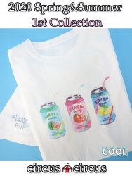Fruits Soda Owner's T【涼感加工】
