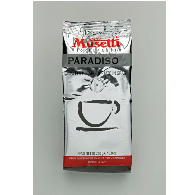Musetti paradiso 250g 6 for Musetti coffee