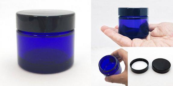 クリーム瓶 E-50クリーム 黒CAP