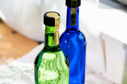 未開封シール デラックス(金) mini  封緘紙 シール 酒瓶・タレ瓶・スパイス瓶に 【画像2】