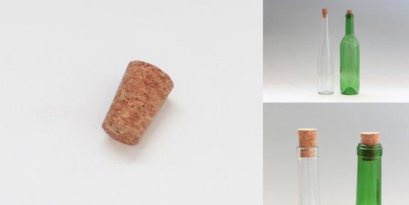 ワインびん用圧搾コルク(23x18x30)
