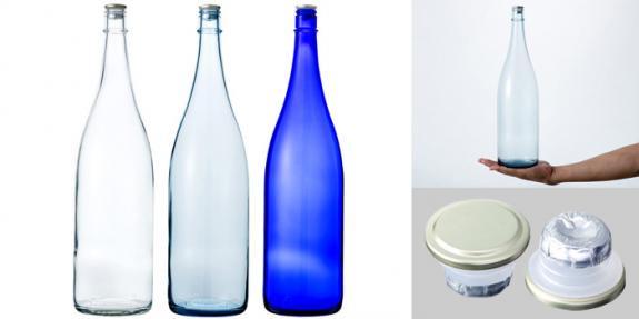 清酒1800-BLSET(一升瓶) ブルーセット3本組