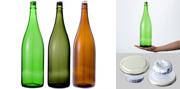 清酒1800-GLSET(一升瓶) グリーンセット3本組