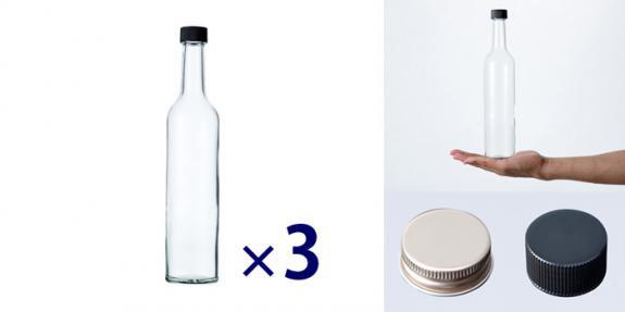 スリムワイン500 透明 -お得な3本セット-