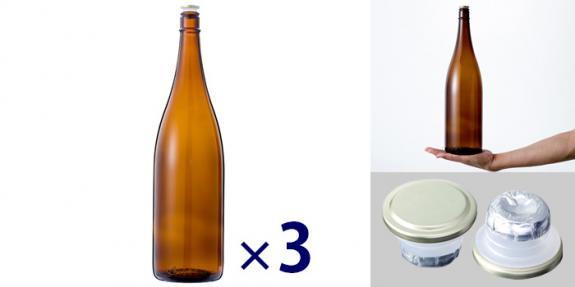 清酒1800-A(一升瓶) -お得な3本セット-