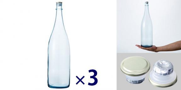 清酒1800-LB(一升瓶) -お得な3本セット-