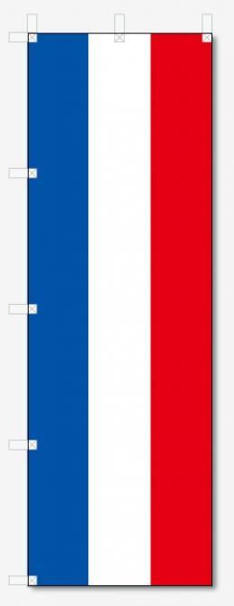 のぼり旗 フランス国旗柄 (W600×H1800)
