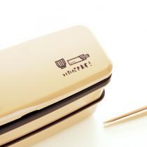 moda スリムランチボックス2段(お箸・ベルト付)